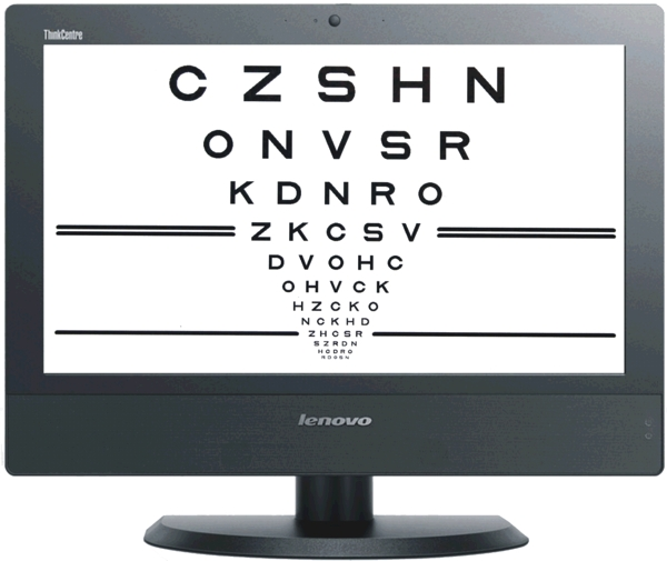 Acuity Pro Eye Chart Vision Testing Software
